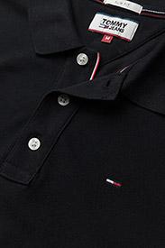 Tommy Jeans - TJM ORIGINAL FINE PIQUE POLO S/S - kortärmade pikéer - tommy black - 2