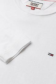 Tommy Jeans - TJM ORIGINAL RIB LONGSLEEVE TEE - basic t-shirts - classic white - 2