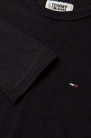Tommy Jeans - TJM ORIGINAL RIB LONGSLEEVE TEE - basic t-shirts - tommy black - 2