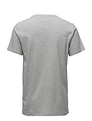 Tommy Jeans - TJM ORIGINAL JERSEY TEE - basic t-shirts - lt grey htr - 1