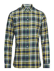 TJM ESSENTIAL CHECK SHIRT - SPECTRA YELLOW / MULTI