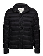TJM LIGHT DOWN JACKET - TOMMY BLACK