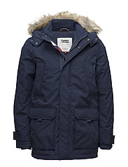 TJM TECHNICAL PARKA - BLACK IRIS