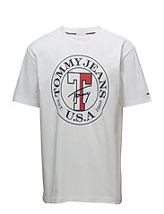 TJM TOMMY CIRCLE TEE - CLASSIC WHITE