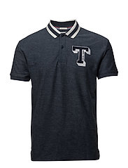 TJM COLLEGE POLO - BLACK IRIS