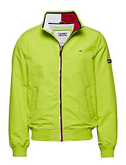 TJM ESSENTIAL CASUAL BOMBER - ACID LIME