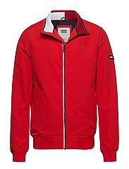 TJM ESSENTIAL CASUAL BOMBER - FLAME SCARLET