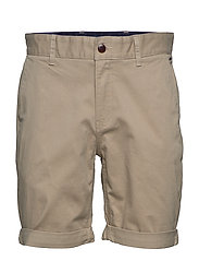 TJM ESSENTIAL CHINO SHORT - STONE