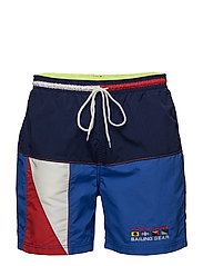 TJM 90s SAILING SHORT - PEACOAT / MULTI