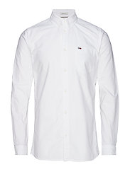 TJM CLASSICS OXFORD SHIRT - CLASSIC WHITE