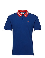 TJM TIPPED COLLAR POLO - LIMOGES