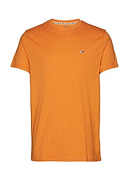 TJM BLENDED TEE - RUSSET ORANGE