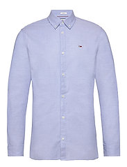TJM STRETCH OXFORD S - PERFUME BLUE