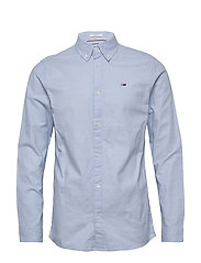 TJM STRETCH OXFORD S - SHORESIDE BLUE