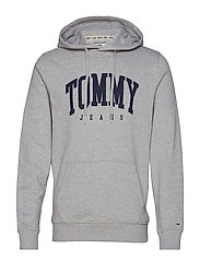 TJM ESSENTIAL TOMMY - LT GREY HTR