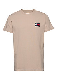 TJM TOMMY BADGE TEE - STONE