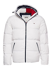 TJM ESSENTIAL DOWN JACKET - CLASSIC WHITE