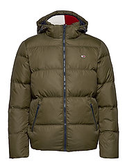 TJM ESSENTIAL DOWN JACKET - FOREST NIGHT