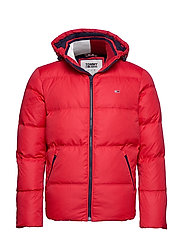 TJM ESSENTIAL DOWN JACKET - RACING RED