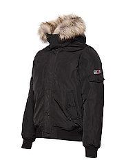 Tommy Jeans - TJM TECH JACKET - padded jackets - tommy black - 7
