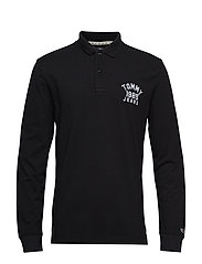 TJM CHEST LOGO LONGS - TOMMY BLACK