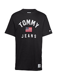 TJM USA FLAG TEE - TOMMY BLACK