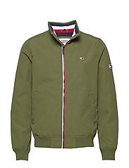 TJM ESSENTIAL BOMBER JACKET - CYPRESS