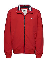 TJM ESSENTIAL BOMBER JACKET - RACING RED