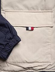 Tommy Jeans - TJM COLORBLOCK JACKET - padded jackets - black iris/multi - 3