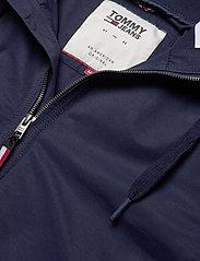 Tommy Jeans - TJM ESSENTIAL HOODED JACKET - light jackets - black iris - 2