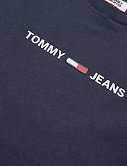 Tommy Jeans - TJM STRAIGHT SMALL L - short-sleeved t-shirts - black iris - 2