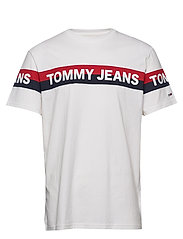 TJM DOUBLE STRIPE LO - WHITE
