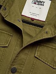 Tommy Jeans - TJM COTTON CARGO JACKET - denim jackets - uniform olive - 2