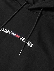 Tommy Jeans - TJM STRAIGHT LOGO HOODIE - hoodies - black - 2