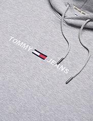 Tommy Jeans - TJM STRAIGHT LOGO HOODIE - hoodies - lt grey heather - 2