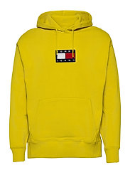 TJM SMALL FLAG HOODIE - VALLEY YELLOW