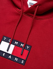 Tommy Jeans - TJM SMALL FLAG HOODIE - hoodies - wine red - 2