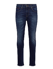 AUSTIN SLIM TAPERED ASDBS - ASPEN DARK BLUE STRETCH