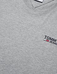 Tommy Jeans - TJM REGULAR CORP LOGO C NECK - basic t-shirts - lt grey htr - 2