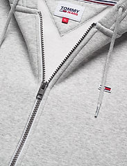 Tommy Jeans - TJM REGULAR FLEECE ZIP HOODIE - hoodies - lt grey htr - 2