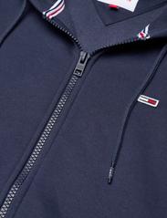 Tommy Jeans - TJM REGULAR FLEECE ZIP HOODIE - basic sweatshirts - twilight navy - 2