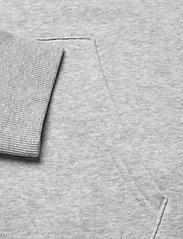 Tommy Jeans - TJM REGULAR FLEECE HOODIE - hoodies - lt grey htr - 3