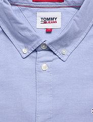 Tommy Jeans - TJM SLIM STRETCH OXF - rutiga skjortor - perfume blue - 3