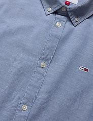 Tommy Jeans - TJM SLIM STRETCH OXFORD SHIRT - linneskjortor - twilight navy - 3