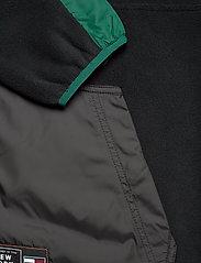 Tommy Jeans - TJM MIX FABRIC MOCK NECK C - basic-sweatshirts - black / multi - 3