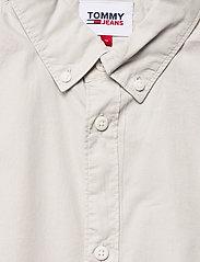 Tommy Jeans - TJM LIGHTWEIGHT TWILL S/S SHIRT - rutiga skjortor - light cast - 2