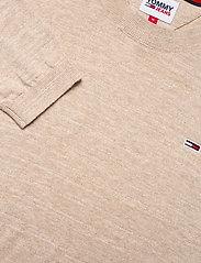 Tommy Jeans - TJM LIGHTWEIGHT HEATHER SWEATER - stickade basplagg - soft beige htr - 2