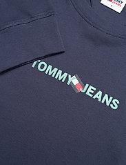 Tommy Jeans - TJM VERTICAL TOMMY LOGO TEE - långärmade t-shirts - twilight navy - 2
