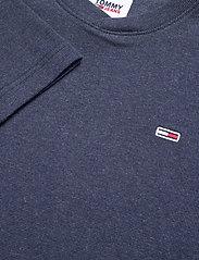 Tommy Jeans - TJM MINI WAFFLE JASPE LONGSLEEVE - basic t-shirts - twilight navy htr - 2