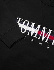 Tommy Jeans - TJM TIMELESS TOMMY CREW 2 C - kläder - black - 2